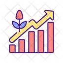 Plants Growth Level Increase Icon