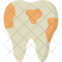 Plaque Dental Tooth Icon