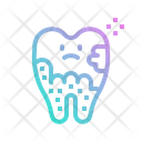 Plaque Tooth Icon