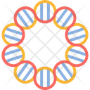 Plasmid Dna Biology Icon