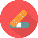 Plaster Medical Tool Icon
