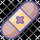 Plaster Bandage Aid Icon