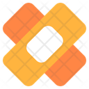 Plaster Wound First Aid Icon