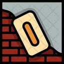 Plaster Brick Cement Icon