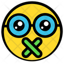 Mouth Shut Silence Icon