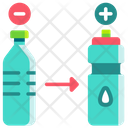 Plastic Product Substitution Icon