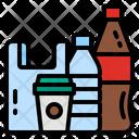 Plastic Bag Bottle Icon