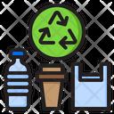 Plastic Plastic Bottle Bottle Icon