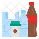 Plastic Bag Bottle Icon