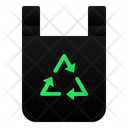 Recycle Plastic Bag Icon