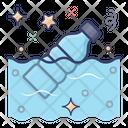 Plastic Bottle Plastic Pollution Plastic Trash Icon
