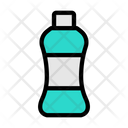 Plastic Pollution Bottle Icon