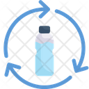Plastic Bottle Recycle Icon