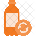 Plastic bottle recycle Icon