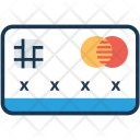 Plastic Money Card Icon