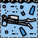 Diving Environment Plastic Icon
