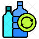 Ecology Plastic Recycle Icon