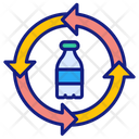 Plastic Recycling Plastic Recycle Icon