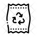 Plastic Parcel Bag Icon