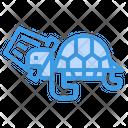 Plastic Stuck On Turtle Icon