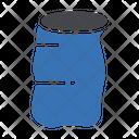 Tin Plastic Bag Icon