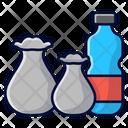 Plastic Trash Plastic Garbage Icon