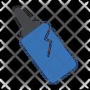 Plastic Pollution Trash Icon