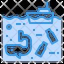 Plastic Waste Icon