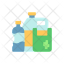 Plastic Waste Container Icon