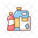 Plastic Synthetic Container Icon