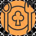 Plate Fork Dinner Icon
