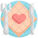Plate Marriage Food Icon