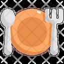 Plate Spoon Kitchen Icon