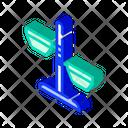 Dog Plates Isometric Icon