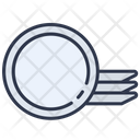 Plate Food Dinner Icon