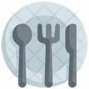 Plate Dish Food Icon