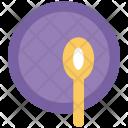 Plate Kitchen Utensil Icon