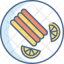 Plate Dish Meal Icon