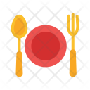 Plate Fork Knife Icon