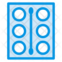 Plate Makeup Kit Cosmetics Icon