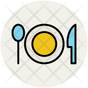 Plate Spoon Knife Icon