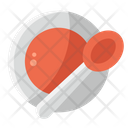 Plate And Spoon Icon