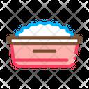 Plate Porridge Food Icon