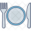 Plate Spoon Spoon Plate Icon