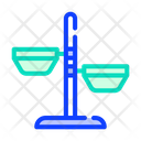 Dog Plates Color Icon