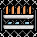 Plates Kitchen Kitchenware Icon