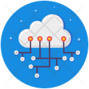 Cloud Network Cloud Computing Platform Icon