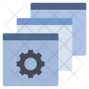 Platform Program Data Icon