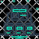 Platform Cloud Technology Icon