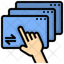 Platform Multitask Browser Icon